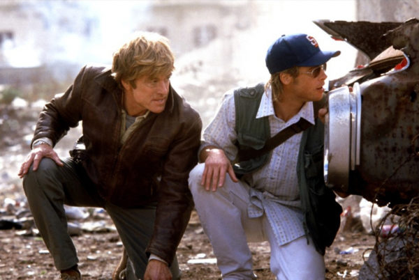 Spy Game - Brad Pitt and Robert Redford