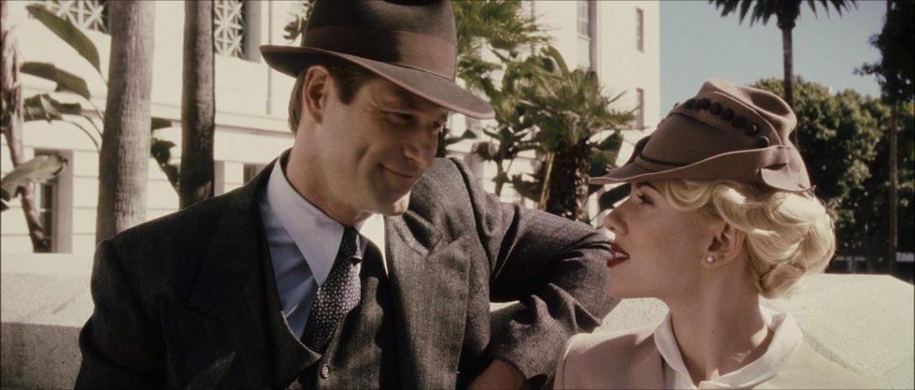 The Black Dahlia - Aaron Eckhart and Scarlett Johannson