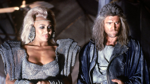 Mel Gibson and Tina Turner in Mad Max: Beyond Thunderdome
